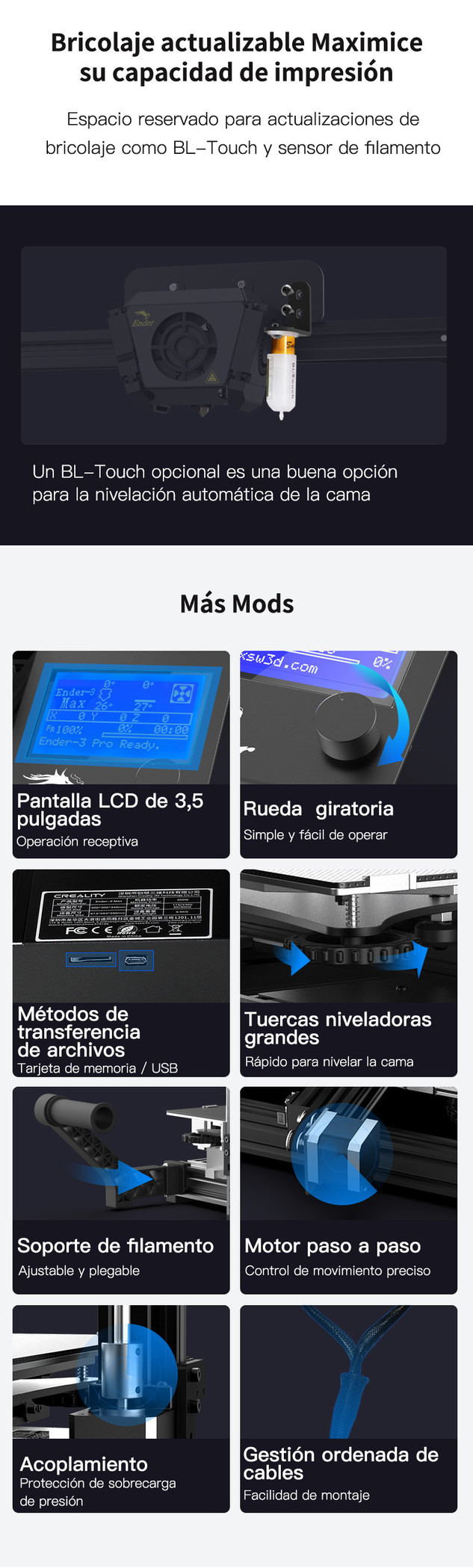 Creality Ender-3 Max 014 - Impresora 3D