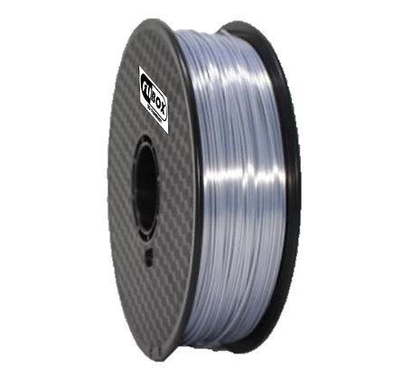 PLA Sedoso Gris 1.75mm 1Kg Flibox