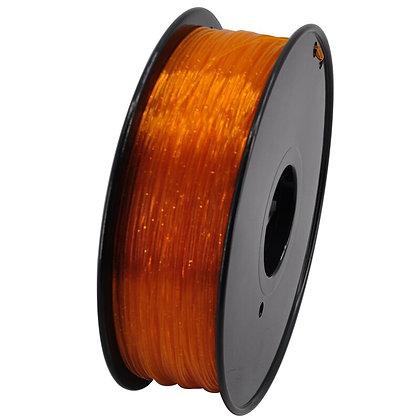 PLA Translúcido Escarchado 1.75mm 1Kg Flibox Naranja