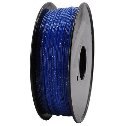 PLA Escarchado 1.75mm 1Kg Flibox Azul