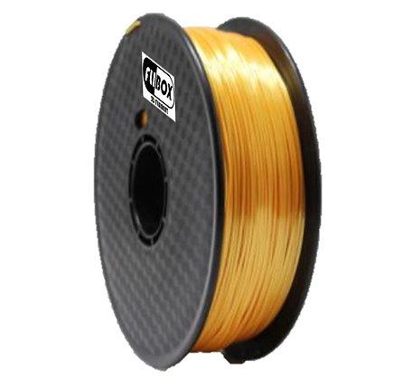 PLA Sedoso Oro 1.75mm 1Kg Flibox