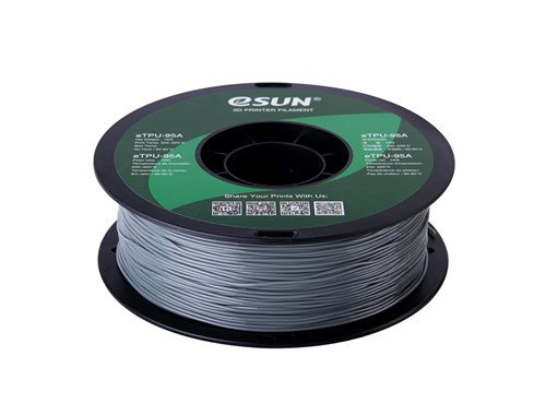 TPU Gris 1.75mm 1Kg ESUN Flexible