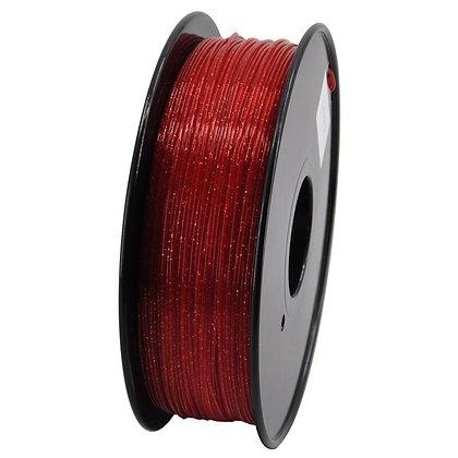 PLA Escarchado 1.75mm 1Kg Flibox Rojo