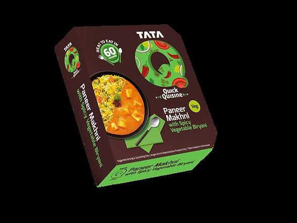 TATA RTE_Paneer Makhni with Spicy Vegeta