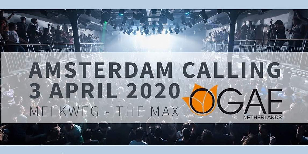 CANCELLED!!! (by Corona Covid-19) Live @ Amsterdam Calling 2020