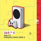 Console Microsoft Xbox One Series S - 512 Go (via 30€ sur la carte de fidélité)
