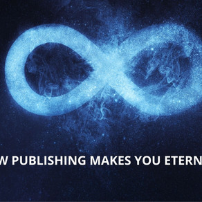HOW PUBLISHING MAKES YOU ETERNAL? : A incident by Black Aviat Publishing House