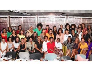 The 25 Black Women In Beauty Collective Is Providing A Literal Seat At The Table For Beauty Executiv