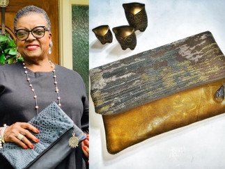 70-YEAR-OLD WOMAN RETIRED FROM AT&T, LAUNCHED A LINE OF CLUTCHES AND NOW SHE'S HEADED TO QVC