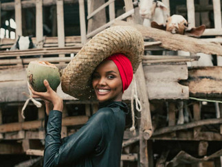 Model Halima Aden's Partnership With Vita Coco Supports Coconut Farming