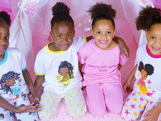 Black Woman-Owned Company Creates the First Pajamas Line Featuring Children of Color