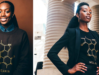 Black Chemist Creates Fashion Brand to Celebrate the Beauty of Melanin