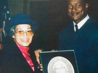 "Pencil Artist Clarence ""Pencilman"" Pointer Honors Historical Women"