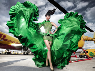 CME's Invitation to the Runway on the Runway at JFK Airport:  J Winter Fashion Show 2020