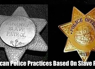 Police Were Created To Catch Runaway Slaves And Protect White Society From Black Revolts