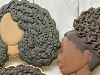 Creator of Kinky Curly Cookie Company bakes Black girl magic: 'There was such a need to affirm each
