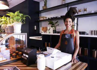 Young, Black woman opens coffee and juice cafe in downtown Jackson