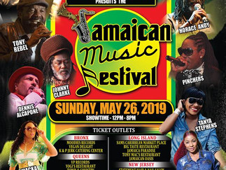 Jamaican Music Festival:  It may have rained but not on this parade