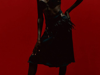 MAXIMILIAN DAVIS' FASHION EAST DEBUT IS DEVOTED TO BLACK BEAUTY