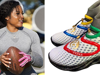 BLACK WOMAN ATHLETE MAKES HISTORY, BECOMES THE FIRST TO OWN A SNEAKER COMPANY