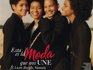 Four Afro-Dominican Models Make History Gracing Vogue Cover During Fashion Month