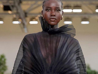 Adut Akech named 'Model of the Year' at British Fashion Awards 2019                 Sudanese
