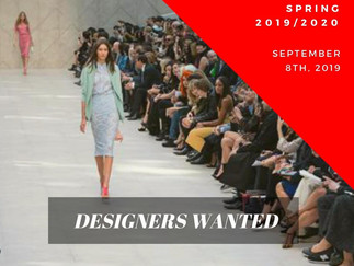 Designers wanted for NYFW Spring 2019/2020 Collective Show