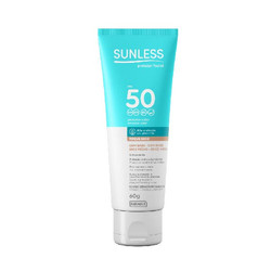 Sunless Protector Solar Facial FPS50 con base 60g