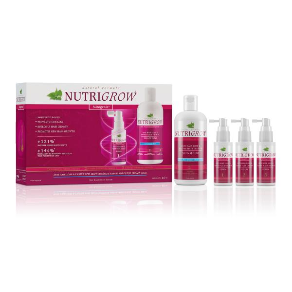 Pack Anticaida Nutrigrow Shampoo + 3