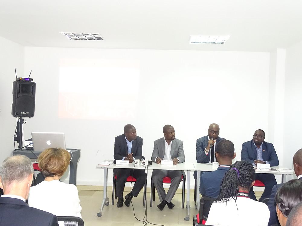 Mot du Ministre des PME, chargé de l'entreprenariat national, Biendi Maganga Moussavou