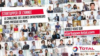 "Concours ""Startupper Challengede l'année"" 2018"