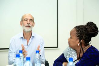 Pour grandir, il faut se former: Equipe de JA Gabon en formation avec la Fédération française de fra