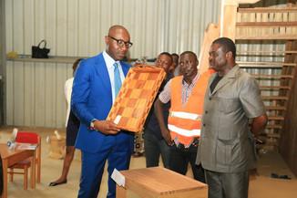 Cluster bois: Biendi Maganga-Moussavou, Ministre des PME, de l'entrepreneuriat national et de l&