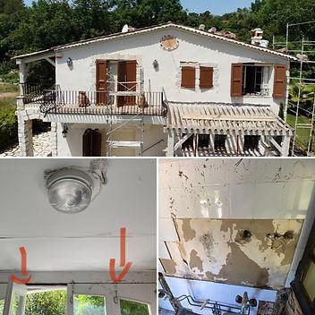villa renovation French Riviera