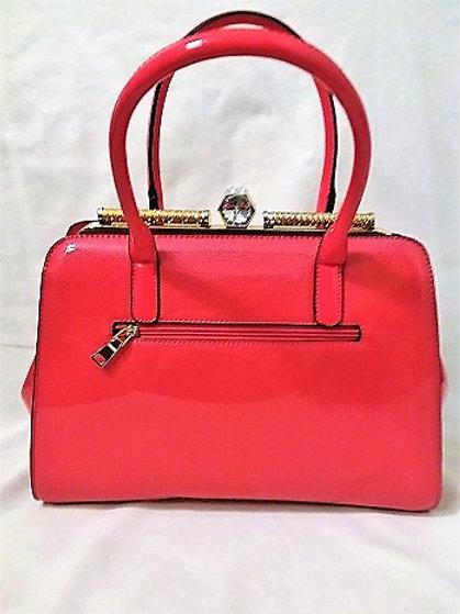 Red and Gold Handbag