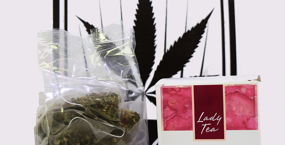 Swisscannabis Hanfteebeutel - LADY