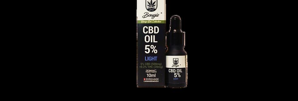 Bougis CBD Oil 5% ( full spectrum )