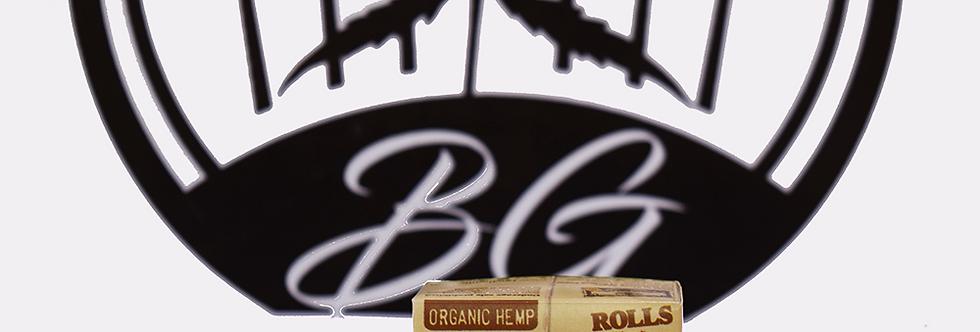 Raw Organic Hemp Rolls