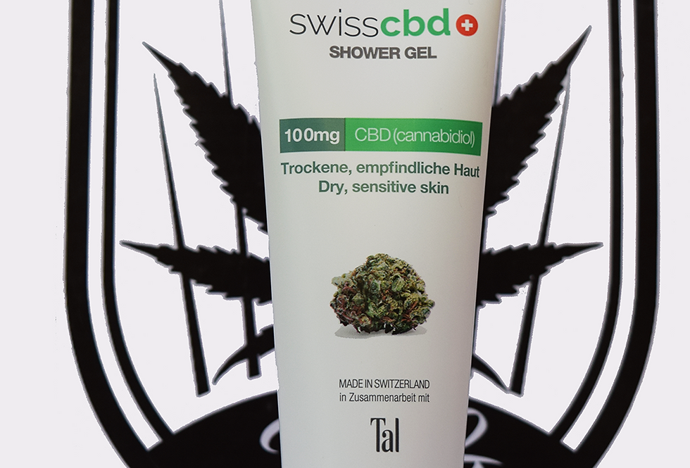 Swiss CBD Shower Gel 200ml