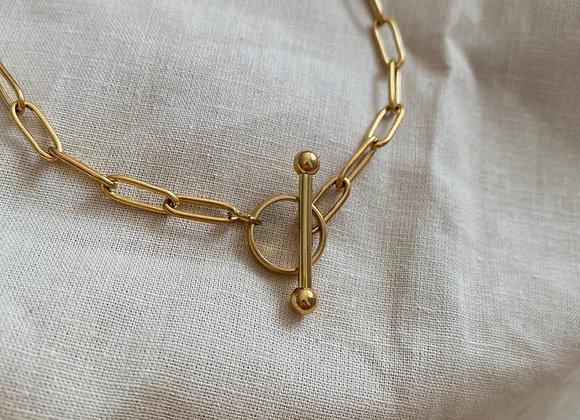 Halskette cierre eslabones