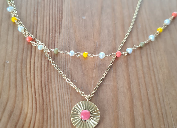 Halskette flor