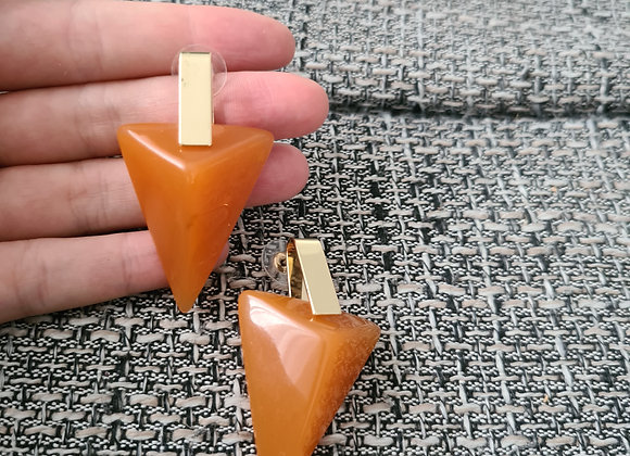Ohrringe triángulo