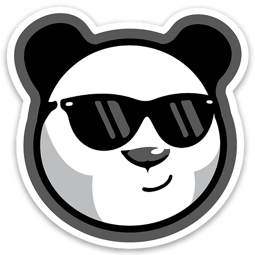 Panda Camp - Panda Sticker