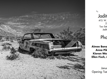 """Group Show - """"Photography"""" Jadite Galleries, NYC, Jan 2020"""