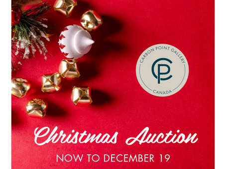 CHRISTMAS AUCTION! November 24 to December 19th!