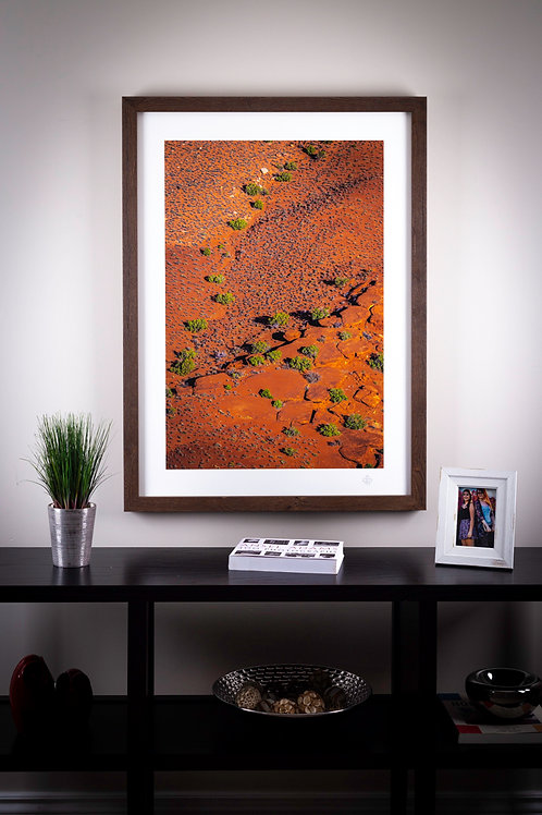 Abstract Canyon - Rolled unframed -  ONLY ONE AVAILABLE