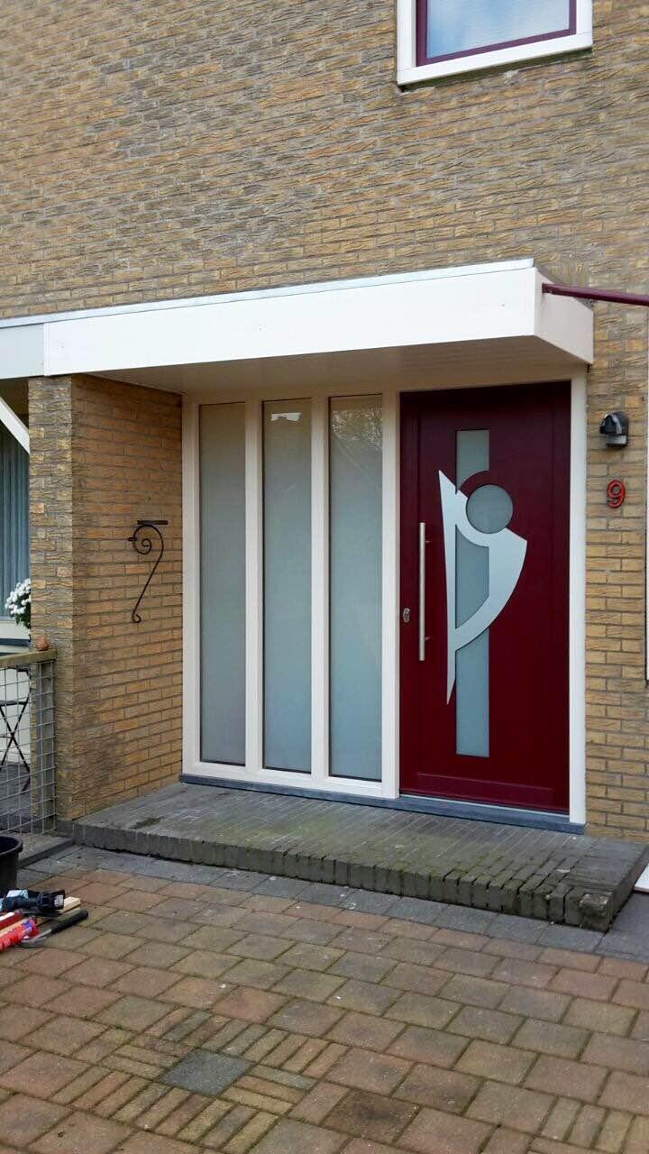 Kunststof - voordeur met zijlicht