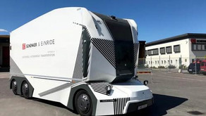 PVM BITs | Driverless electric lorries begin deliveries in Sweden