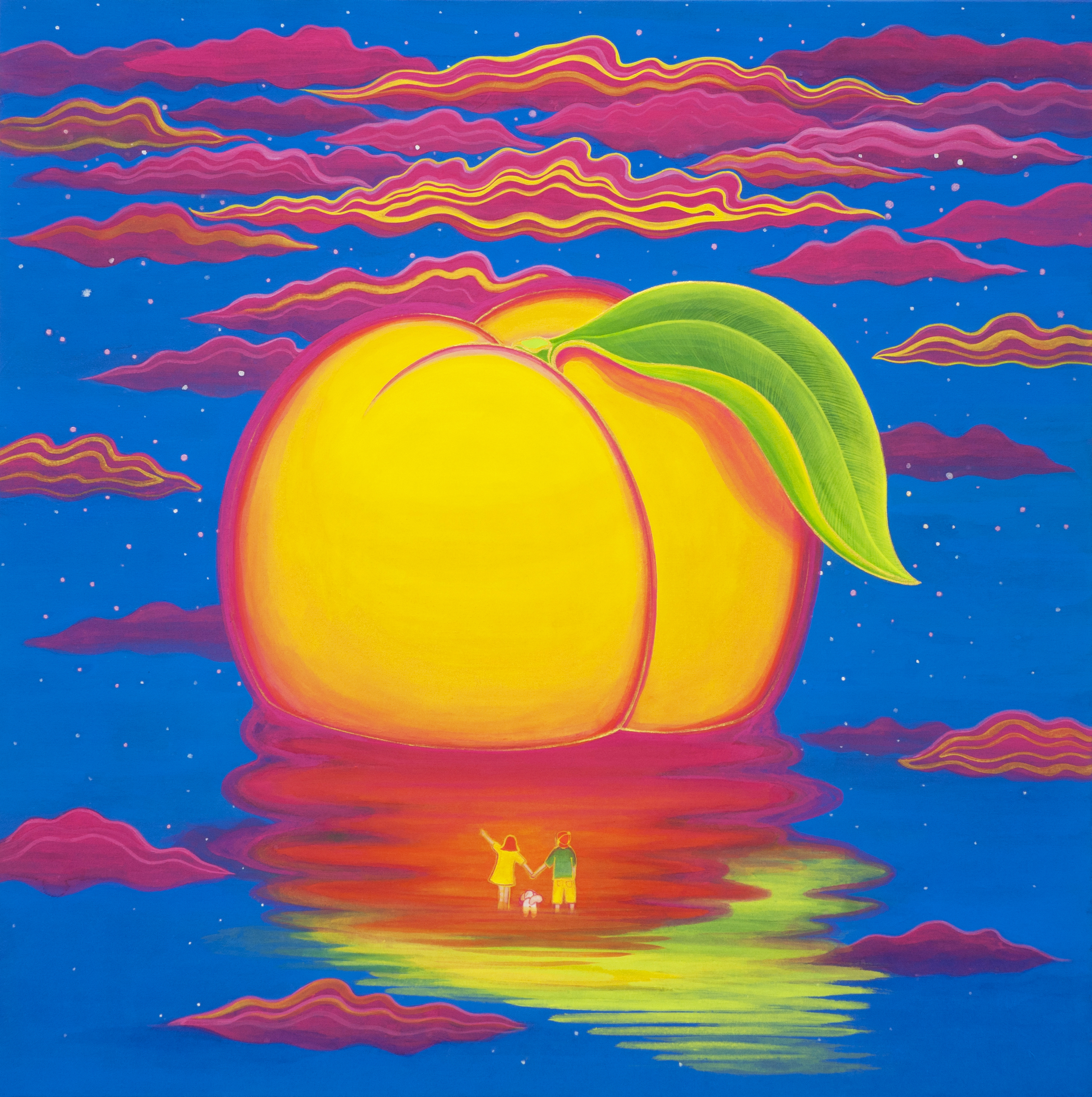 [작품3]Peach_Paradise_island,_50x50cm,korean_traditional_silk_painting,_2015.jpg