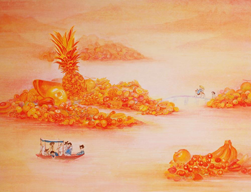 8.Orange Paradise